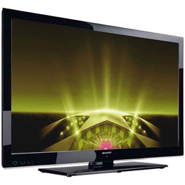 tv led 32 80 cm aquos lc32le510e hdtv 1080p timeshift pvr par usb usb vid o noir. Black Bedroom Furniture Sets. Home Design Ideas