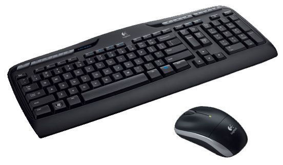 clavier logitech wireless desktop mk330 47 9 generation net. Black Bedroom Furniture Sets. Home Design Ideas