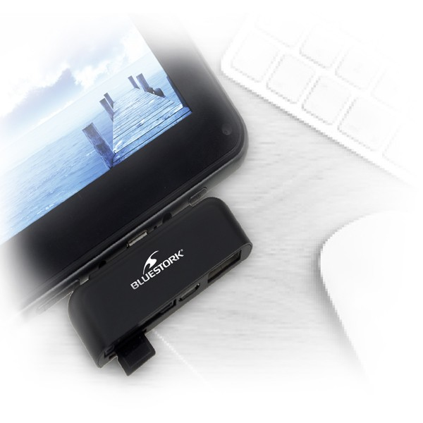 lecteur de carte sd usb pour tablette android bluestork generation net. Black Bedroom Furniture Sets. Home Design Ideas
