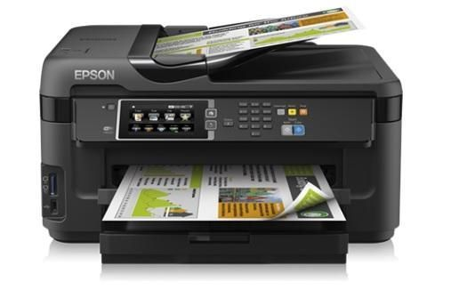 imprimante epson workforce wf 7610dwf a3 generation net. Black Bedroom Furniture Sets. Home Design Ideas